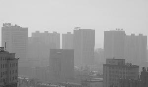 8天内长春两次发布大气重污染预警 昨晚雾霾猖狂