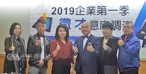 调查:2019年第1季度台湾企业征才意愿创近年新低