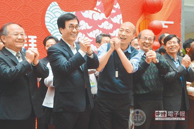 开春拼经济:蓝营县市长纷纷宣布西进 韩国瑜启动