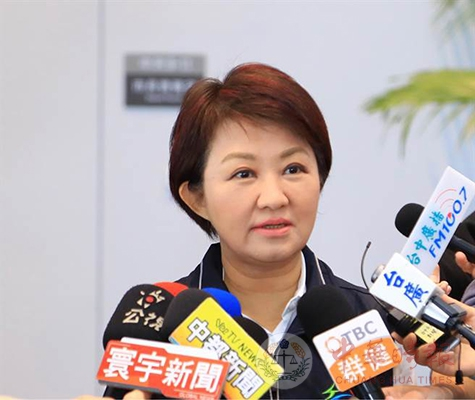不解决空污问题 卢秀燕:蔡英文来台中交管不见得配合