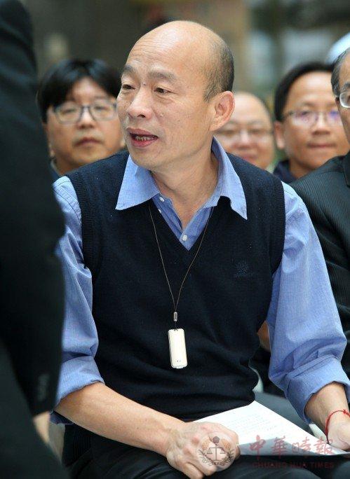 韓國瑜:2020年选举 意识形态会打到最高点