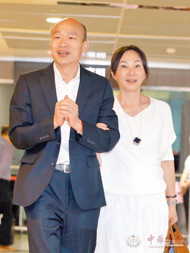 郭台铭称拒绝接受征召 指涉意味浓!到底谁在韩国瑜背后开
