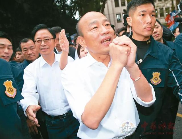 吴敦义拒接的韩国瑜竞选总部主委一职 朱立伦为什么接了?