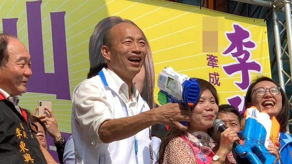 韩国瑜痛批:台湾选举从没有像2020这么肮脏过