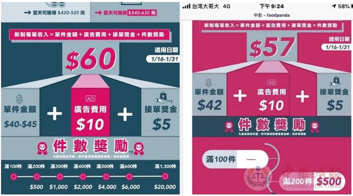 遭减薪20%!台湾外卖小哥暴怒 号召1月16日罢工
