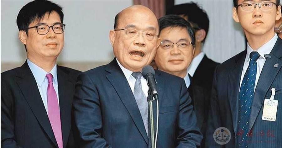 """民进党派系内斗又再起?苏贞昌这样回应""""人事异动"""""""